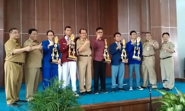 Perolehan juara LKS bidang IT tingkat Propinsi DKI Jakarta