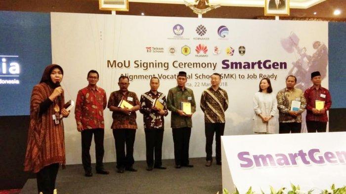 Tingkatkan Kualitas Kurikulum, YPT Ikuti Program Smart Gen Huawei