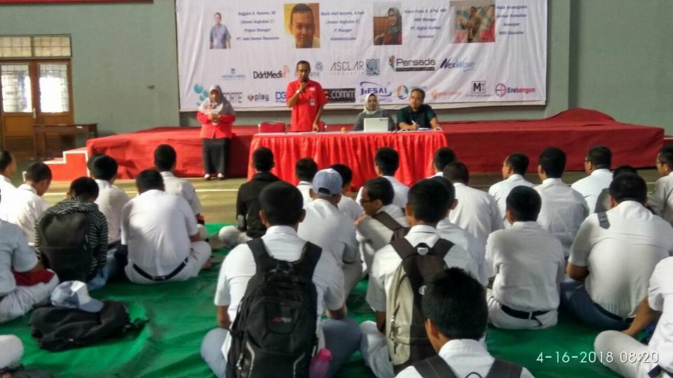 Rekrutasi dan pelatihan Huawei di Smk Telkom Jakarta