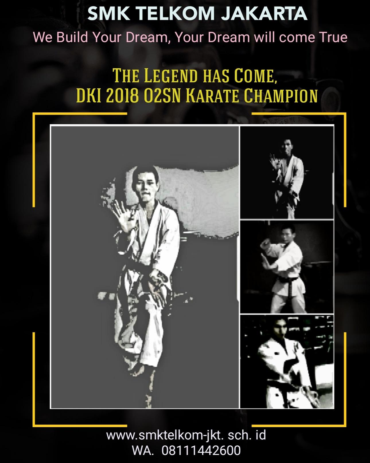 Indra DKI 2018 o2sn karate champion