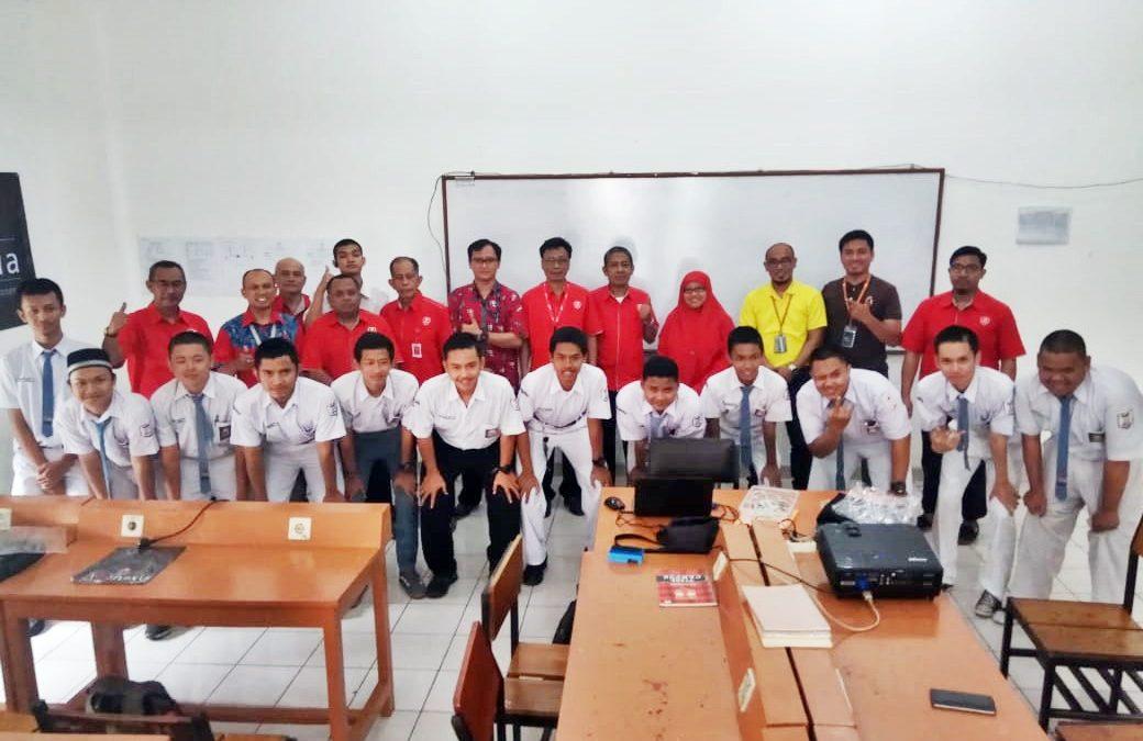 Pelatihan Huawei di SMK Telkom Jakarta