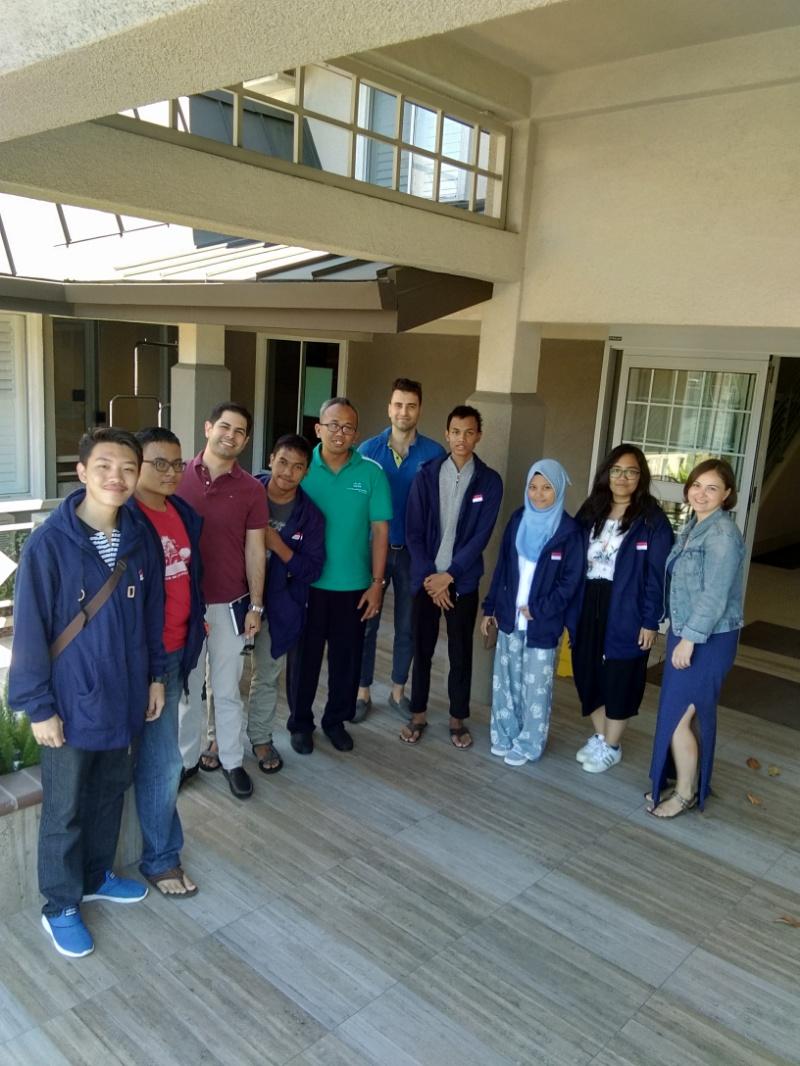 Pertemuan silaturahmi dengan tim UNODC di Sunnyvale, California,  Amerika Serikat
