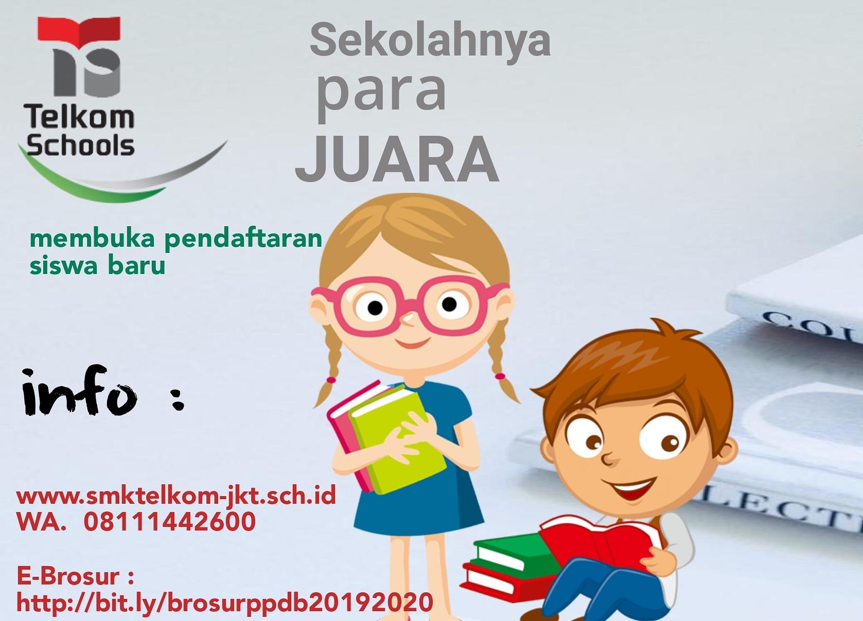 e-Informasi SMK Telkom Jakarta dalam genggaman gadget